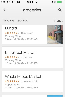 Google Maps Improves Mobile Devices & Tablets Usability
