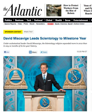 the atlantic scientology botched native ad