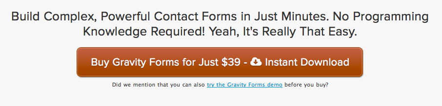 gravity forms premium plugin