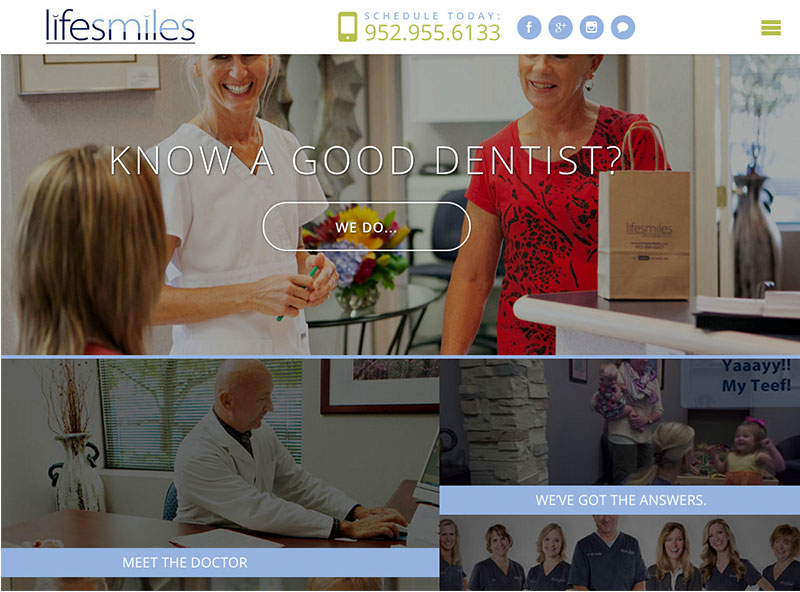 lifesmiles-wordpress-site